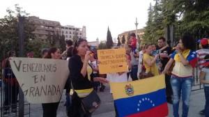 Venezolanos en Granada (España).