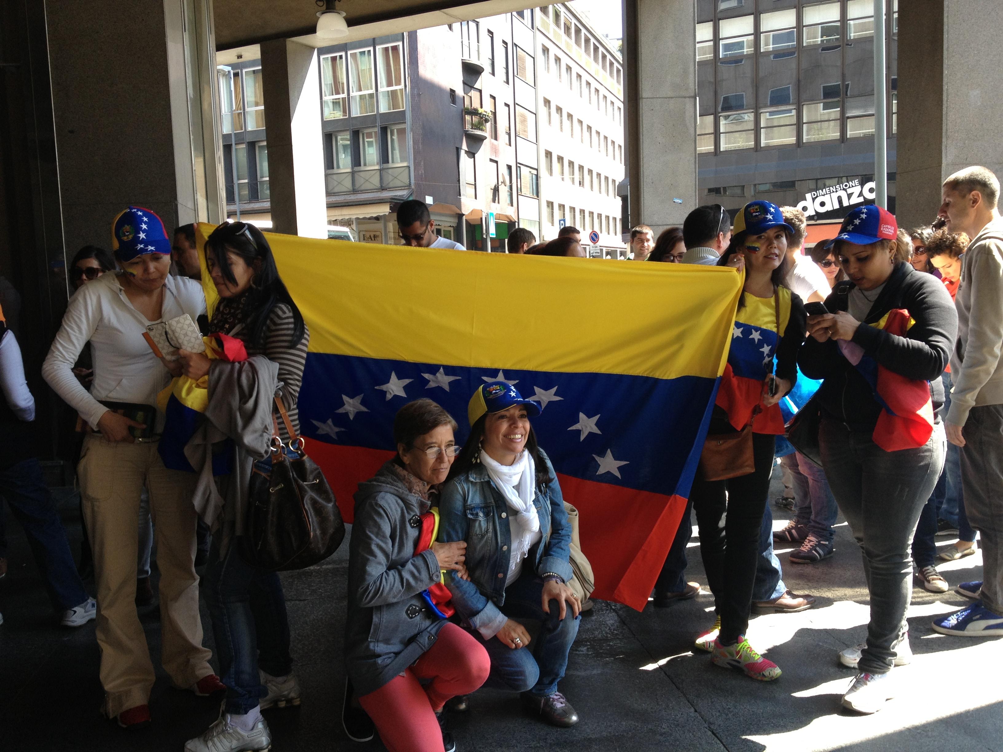 Venezolanos en Milán (Italia)