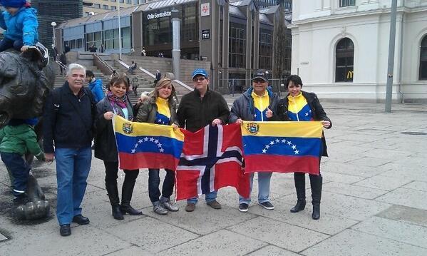 Venezolanos en Oslo (Noruega)