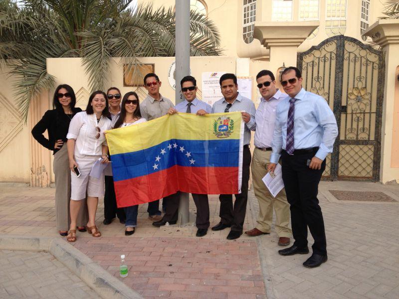 Venezolanos en Qatar