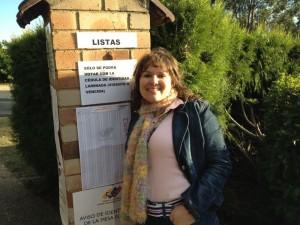 Rina Rivas, primera venezolana en votar en Australia