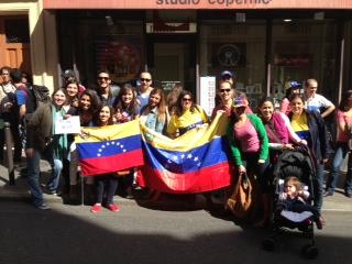 Venezolanos en París (Francia)