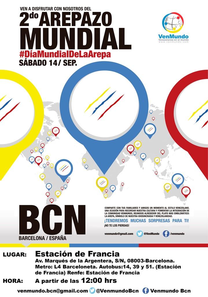 Afiche Arepazo_BCN