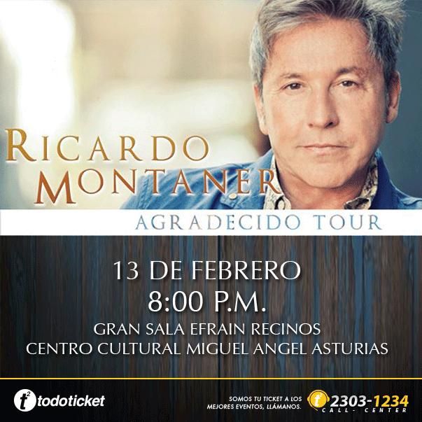 Ricardo Montaner Guatemala