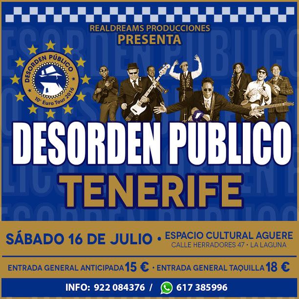 Desorden Público Tenerife